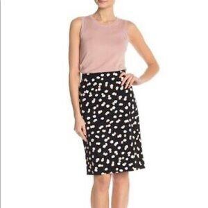 Philosophy Random Dot Print Pencil Skirt